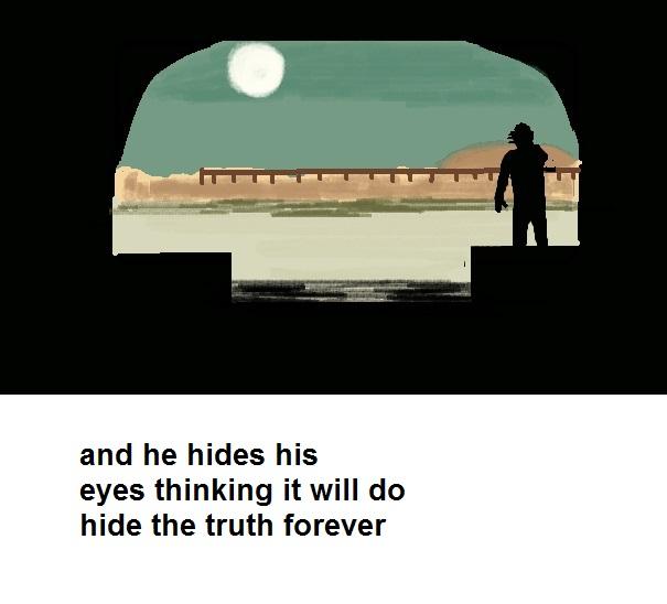 hiding from truth HAIKU 30.6.13 TAB