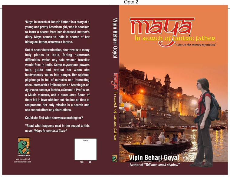 Maya in search of tantric father…by Vipin Behari Goyal