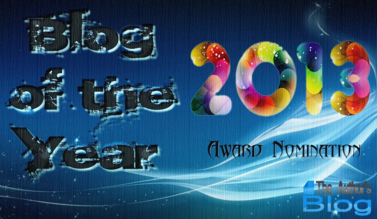 Blog of the Year 2013Award
