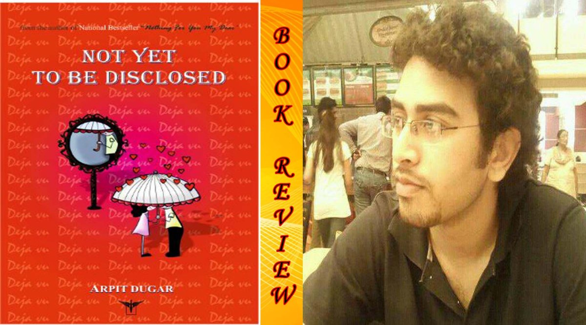 NOT YET TO BE DISCLOSED – BOOKREVIEW