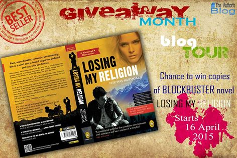 Blogtour And Giveaway –  LOSING MY RELIGION (NATIONAL BESTSELLER EDITION) By Vishwas Mudagal